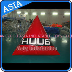 Chiny Inflatable Triangular Shape Marker Floating Buoy For Advertising And Water Games fabryka