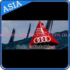 Chiny Inflatable Promoting Buoy In Pyramid Shape For Ocean Or Lake Advertising fabryka