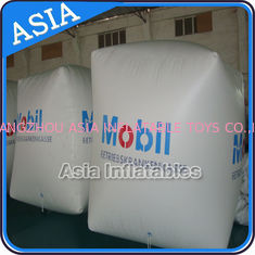 Chiny Inflatable Water Barrier Walls, Swim Buoys For Ocean Or Lake Advertising fabryka