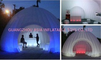 Hot sale advertisin inflatable lighting tent for tea house / inflatable tent with led tent