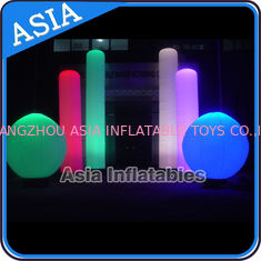 Chiny Inflatable Nightclub Decoration Inflatable LED Lighting Sphere fabryka