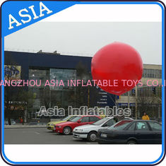 Chiny Advertising Helium Balloon And Blimps Soccer , Sphere Flying Paint Shape Ball fabryka