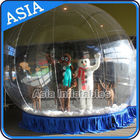 Human Inflatable Bubble Tent Xmas Inflatable Snow Globe EN - 71 dostawca