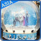 Olaf Inflatable Snow Globe Advertising Inflatable Bubble Tent With Frozen Cartoon dostawca
