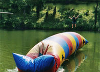 Inflatable Water Pillow , Inflatable Rainbow Water Blob For Water Sports dostawca