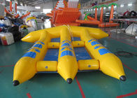 4 Riders Hot Air Welded Colorful Inflatable Flying Fish Towable Tube for Adults dostawca