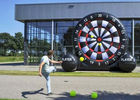 Double Stitching Inflatable Dartboard For Event , Inflatable Soccer Dart dostawca