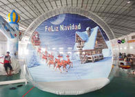 OEM Inflatable Snow Globe with Tunnel for Promotion dostawca