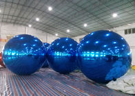 Inflatable Huge Bule Mirror Ball Advertising Inflatable Product Large Mirror Balloon dostawca