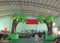 Custom New Design Welcome Gate Inflatable Arch, Inflatable Red Apple Archway dostawca