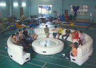 12ft Diameter Round Shape Inflatable Sofa For Meeting With White Color dostawca