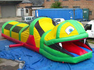 Inflatable Tunnel Maze , Snake Train Tunnel For School Amusement Equipment