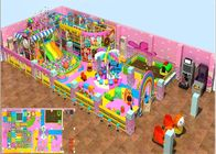 Kids Indoor Soft Blow Up Playground With Candy Theme 3 lata gwarancji dostawca