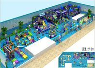 Pretty Cartoon Sea Sailing Indoor Playground Environmental Protection