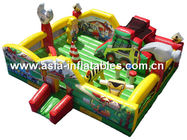 2014 Vivid Popular Transformer Inflatable Combo /Jumping Castle Inflatable /Inflatable Trampoline With Slides CE Certifi dostawca