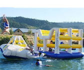 Customised Inflatable Water Park / Aquaglide Jungle Jim Modular Playset dostawca