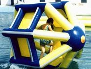 PVC tarpaulin Inflatable Water Roller , Inflatable Water Park Amusement Equipment dostawca