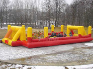 Ce Inflatable Soccer Arena Court For Outside Use , Inflatable Soccer Field For Outside