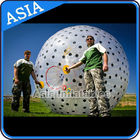 Inflatable Color Dots Aqua Zorbing Ball Played On Grassland / Water dostawca