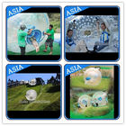 Customized Transprent Inflatable Zorbing Ball , Used Grass Zorb For Adult dostawca