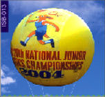 Champion ship round inflatable helium balloon