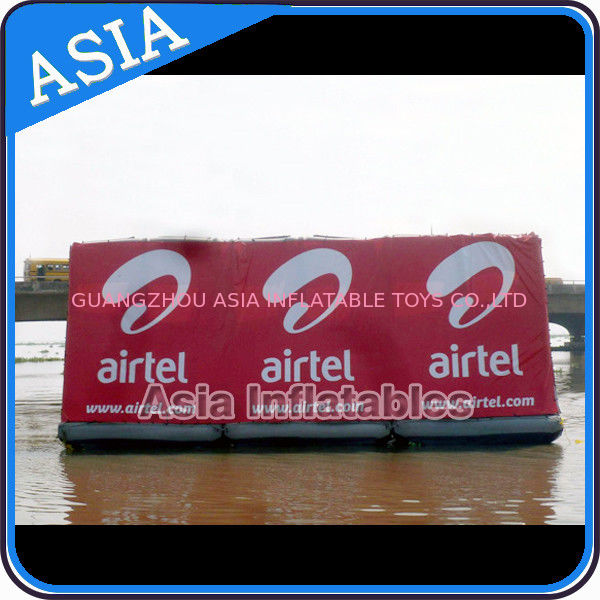 Floating Billboard With Banner Advertising Inflatables Water Billboard For Summer dostawca