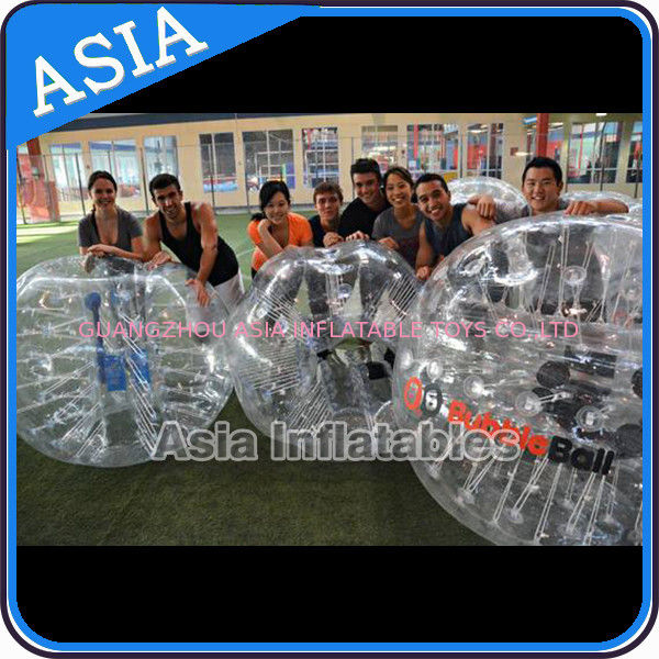 Outdoor Inflatable Bumper Ball , Loopyball bubble soccer , Bubble football