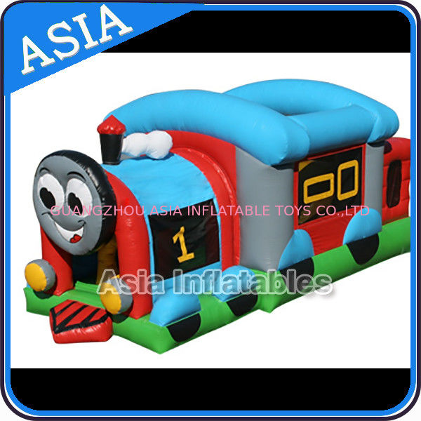 Commercial Inflatable Bouncer Choo Choo Train Bouncy House For Kids