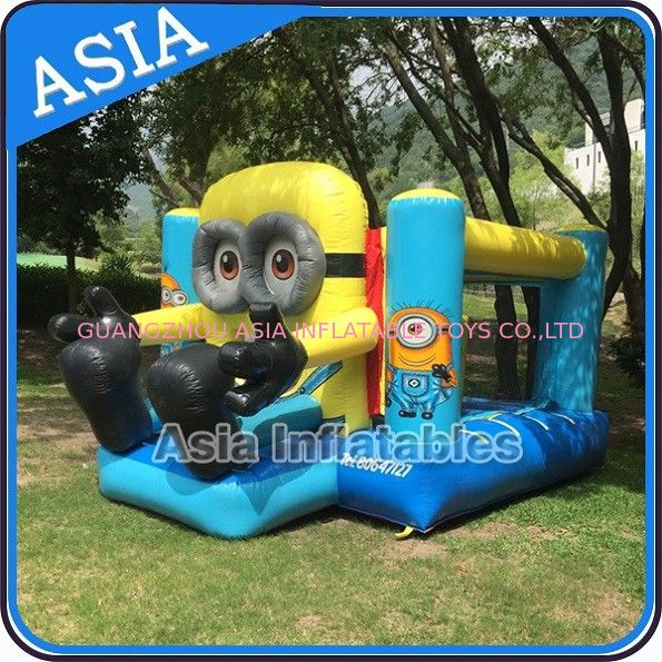 Backyard Inflatable Minion Bouncer Combo For Party Hire Inflatable Sports dostawca
