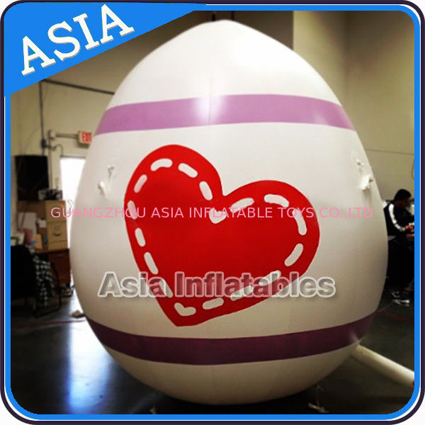 Egg Shape Helium Balloon And Blimps Inflatable Easter Balloons Customized Large dostawca