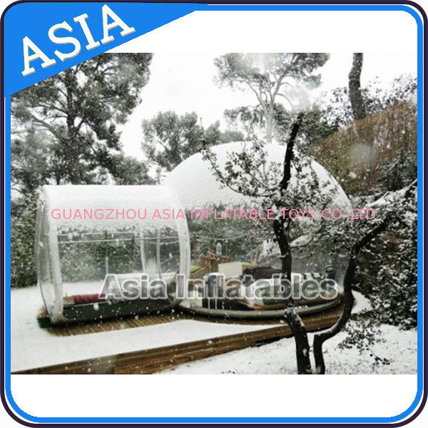 Waterproof Inflatable Snow Globe For Advertisement With Fake Snow dostawca