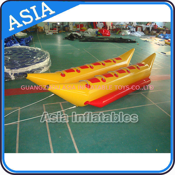 Water Games Inflatable Boats Double Tubes Flying Fish Inflatable Banana Boat dostawca