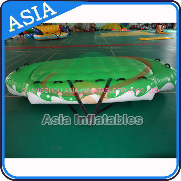 3.3m X 2.1m Digital Printing UFO Inflatable Water Boat Customized Color dostawca