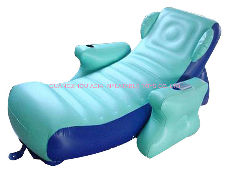 Eco-friendly PVC Inflatable Water Sofa Bed , Advertising Inflatable Floating Sofa dostawca