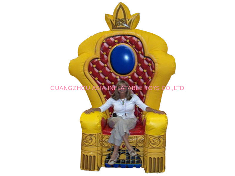 Chinese Supplier Advertising Inflatable King Chair Sofa For Chair Furniture Exhibition dostawca
