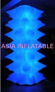 LED Lighting Decoration Inflatable Lights With Silk Printing dostawca