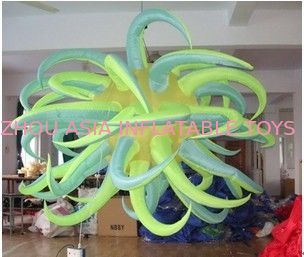Rainbow Inflatable Lighting ,Decoration Inflatable Lighting With Taffeta Fabric dostawca