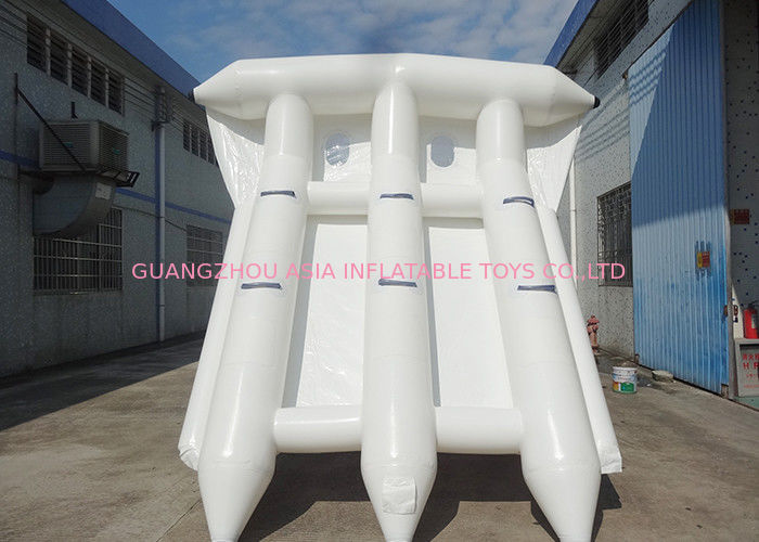 Commercial Grade Rental Towable Inflatables Water Game Flying Fish For Seashore dostawca