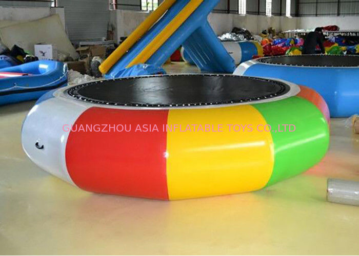 Cheap Water Trampoline Inflatable Water Games , Water Trampoline Manufacturer