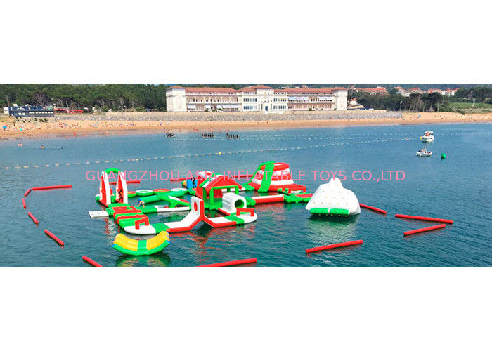 Customized Kids Giant Inflatable Water Park for Sea / Lake / Ocean dostawca