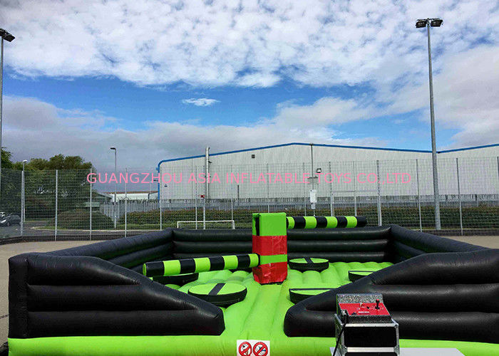 Customized Inflatable Sports Games , Inflatable Eliminator With Rotative Machine dostawca