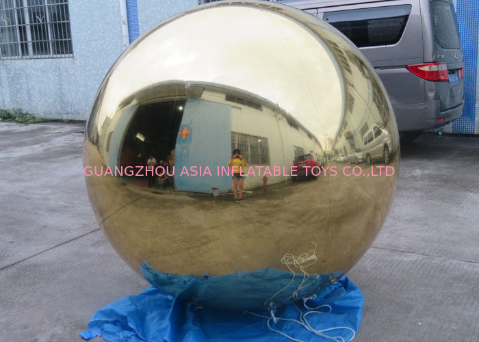 Inflatable Gold Mirror Balloon With Reflection Effect For Decoration On The Floor dostawca