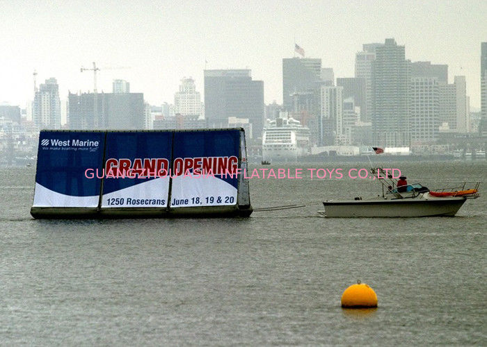 Crazy Event Advertising Inflatables Billboard /  Inflatable Floating Billboard dostawca
