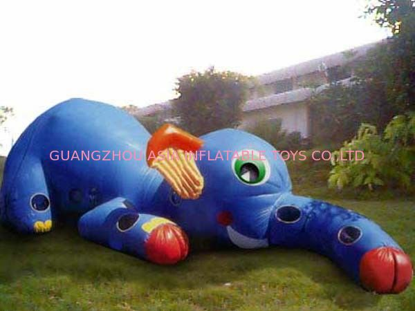 Inflatable Animal Tunnel, Inflatable Elephant Trunk Tunnel Games dostawca
