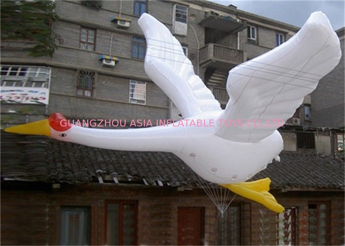 Customized Advertising Inflatables Shaped Helium Balloon , PVC Giant  Bird Animal Balloon dostawca