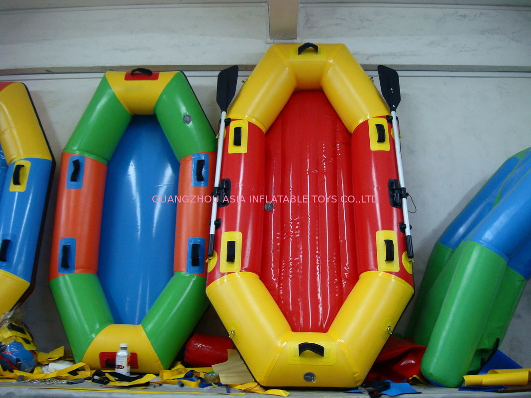 Customized 8 Foot Colorful Inflatable Fishing Boat for summer dostawca