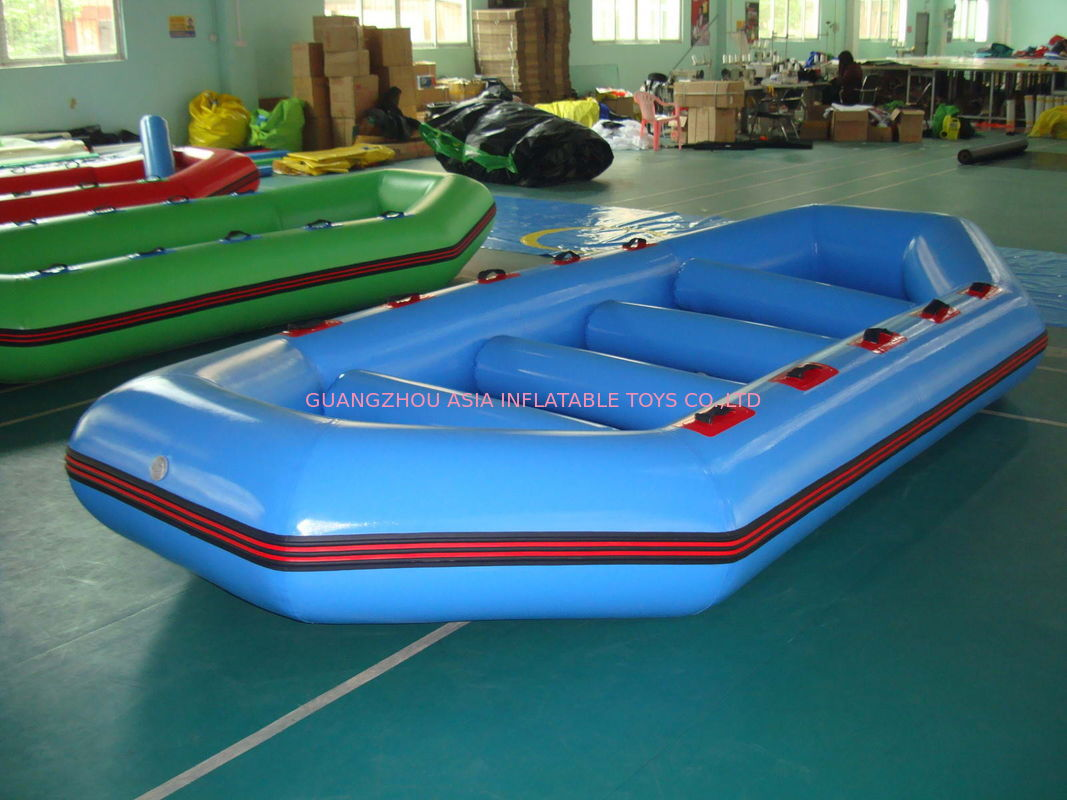 3.2m Long PVC tarpaulin Blue Color Inflatable Boat for 8 Persons dostawca