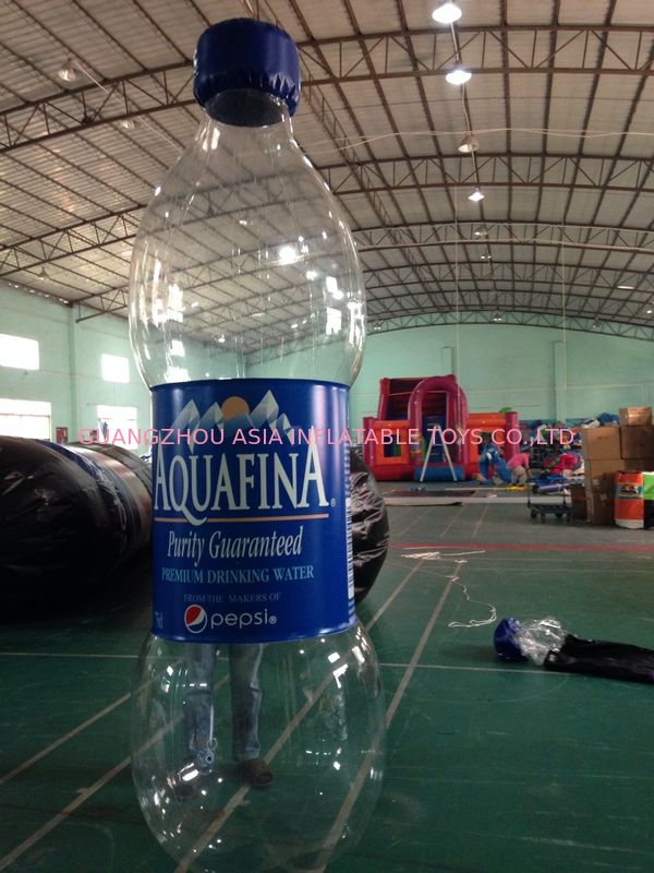 Water Bottle Inflatable Model/Inflatable Water Bottle For Advertising