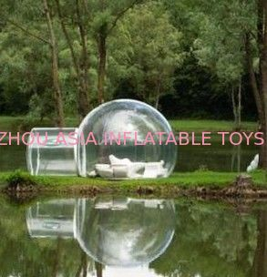 Custom Made Transparent Inflatable Bubble Tent on Water dostawca