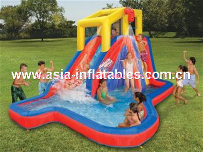 Inflatable water slide for kids dostawca